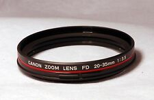 Canon FD 20-35MM 3.5 Lens Front Filter Ring Repair Part New OEM CA2-3930-000