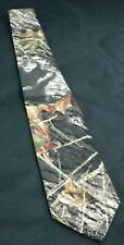NEW Licensed Mossy Oak Break up Camo Neck Tie Pretied or self tie Wedding prom