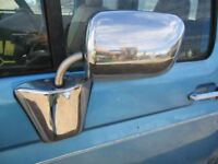 Driver Side View Mirror Manual From 8501 GVW Fits 80-97 FORD F250 PICKUP 74269