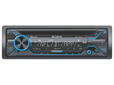 Autorradio - Sony MEX-N4200BT, 4 salidas 55w, Bluetooth, CD, USB, Pantalla LCD,