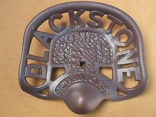 very attractive Faithfully Reproduced Cast Iron BLACKSTONE TRACTOR SEAT