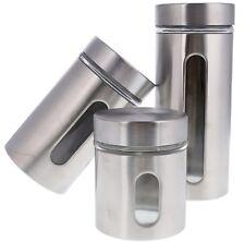 3tlg Vorratsdosen Vorratsgläser Vorratsglas Vorratsbehälter Aufbewahrungsdosen