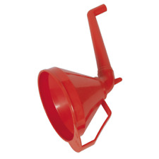 F16 Sealey Funnel with Fixed Offset Spout & Filter Medium 160mm [Funnels]