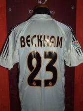 BECKHAM REAL MADRID 2004-2005 MAGLIA SHIRT CALCIO FOOTBALL MAILLOT JERSEY SOCCER