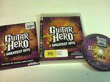 Guitar Hero Greatest Hits PS3 Playstation 3