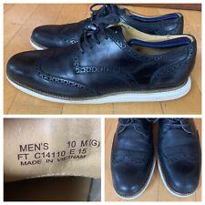 Cole Haan Men's Original Lunargrand Wingtip Oxford Shoes Size 10M Black C14110