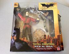 2005# MATTEL Batman Begins Total Control Ra's Al Ghul #NIB