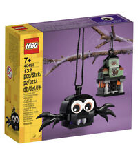 LEGO 40493 Spider & Haunted House Pack (132 pcs) Halloween - Brand New! Sealed!