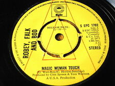 """ROBEY, FALK AND BOD - MAGIC WOMAN TOUCH  7"""" VINYL PROMO"""