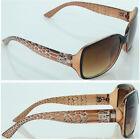 Brown New Women Men Fashion Frame Designer Sunglasses DG Eyewear 417