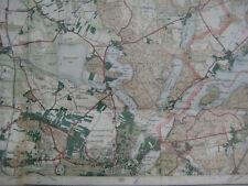 Landkarte Berlin Blatt 5 Potsdam 1922 Landesaufnahme Kladow Staaken Ketzin Utz