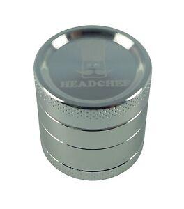 Headchef 30mm 4 piece grinder Silver