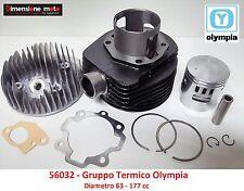 Gruppo Termico Cilindro + Pistone Olympia D63 = 177cc per LML Star 150 Deluxe 2T