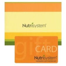 $300 Nutrisystem Success Gift Card Fast Shipping