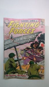 Our Fighting Forces No 77 Comic Gunner and Sarge 1963 very good condition