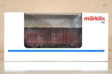MARKLIN Märklin 4430 g0077 SONDERMODELL DB usé wagons de marchandises & CHARGE
