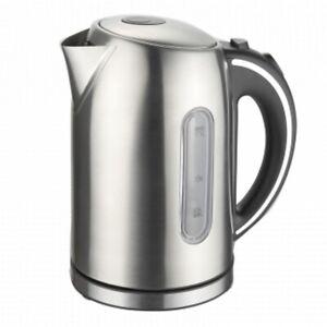 MegaChef 1.7Lt. Stainless Steel Electric Tea Kettle