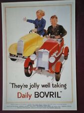 POSTCARD  BOVRIL - THEY'RE JOLLY WELL TAKING DAILY BOVRIL