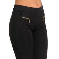 Treggings Hose Jeans Jeggings Röhre High Waist Leggings Steghose Stretch 36-42