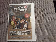 Programm FC St.Pauli - Eintracht Braunschweig 17/18