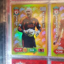 RARE Adrenalyn xl 2011/2012 Liverpool fc ultimate card pepe reina