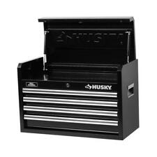NEW!!  HUSKY 26 in. W 4-Drawer Tool Chest, Black