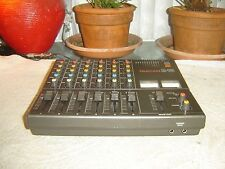 Tascam M-06, 6 Channel Stereo Mixer, Preamp, Equalizer, VU Meters, Vintage Unit
