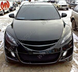 Eyelids Headlights Covers for Mazda 6 GH / Atenza 2008, 2009, 2010, 2011,2012