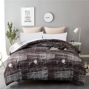 Single King Queen Print Floral Duvet Cover Pillow Case Quilt Cover Bedding Set
