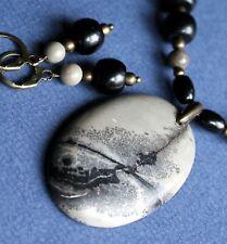 EXCELLENT! Chohua JASPER  Pendant Necklace