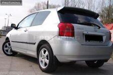 Trunk spoiler for Toyota Corolla mk9 E12 Hatchback TAILGATE ROOF Cover trd Trim
