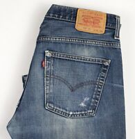 Levi's Strauss & Co Hommes 507 04 Jeans Jambe Droite Taille W36 L34 ARZ1545