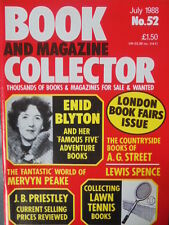 BOOK & MAGAZINE COLLECTOR  No 52 JULY 1988