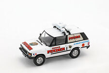 Land Rover Range Rover Reklamewagen Pinder Zirkus weiß 1:43 Direkt Collections
