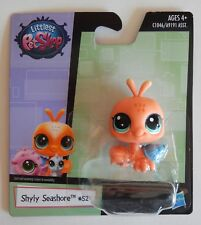 NEW Littlest Petshop LPS Hasbro Shyly Seashore Orange Crab #52 Toy