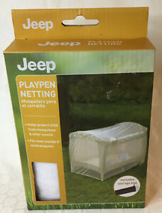 Playpen Netting Jeep Fits Most Graco Kolcraft Pack N Play & More! FREE Shipping