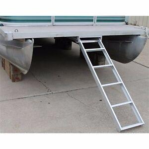 Five (5) Step Pontoon Under Deck Ladder Mounts Under Boat Mounts Al-Udl5
