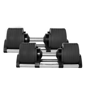 Adjustable Dumbells Pair/Set 2x32kg with Rack Stand,Olympic 20kg 2.2m Barbel Bar