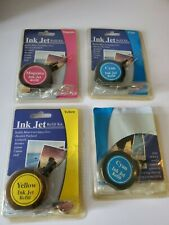 Inkjet Refill Kit Universal Yellow Magenta 2-Cyan HP Lexmark Canon Epson