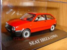SEAT IBIZA RED ROJO 1984 1:43 PERFECTO