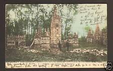 TROYES (10) RUINES DE LA VACHERIE animée en 1906