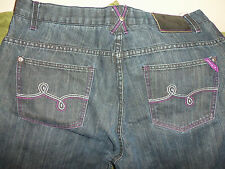 Vintage L-R-G Lifted Research Group LRG Geans Jeans Dark Wash 38W Hundreds OBEY