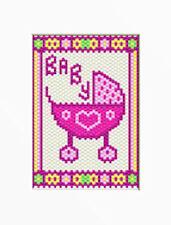Baby Girl~Beaded Banner Pattern