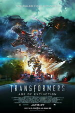"022 Transformers 4 Age of Extinction - 2014 Hot Movie Film 14""x21"" Poster"