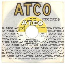Arthur Conley 1968 Atco 45rpm Aunt Dora's Love Soul Shack b/w Is That You Love