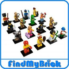 NEW - Lego Minifigure 8805 Series 5 - Lot of 16 - NEW