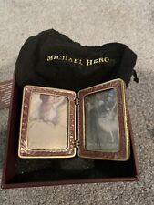 Michael Hero Collectible Romantic Gardens Travel Frame 2� x 2.5� - Nib