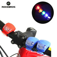 RockBros MTB Road Bike Bicycle Wheel Rubber Light Rear Frog Tail light