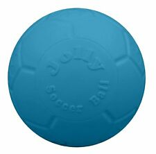 Jolly Pets Soccer Ball Blue 6 inch | Unscented Rubber Chew Toy for Dogs