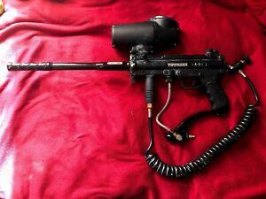 Tippmann A-5 paintball gun with accesories!